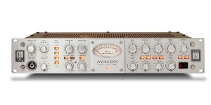 A Front view of the Avalon VT 737 preamplifier