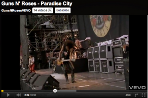 Slash and his Silver Jubilees
