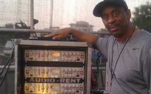 Sound Engineer Rick Camp & his AD VT-737 preamplifier