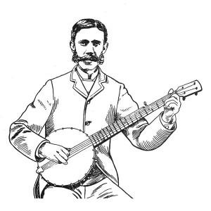 Banjo picking Scruggs style