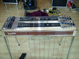 The pedal steel guitar